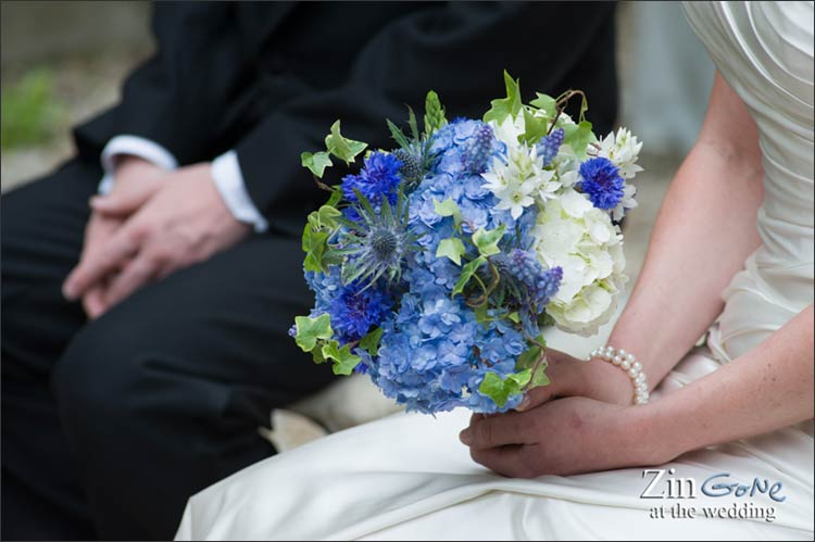 Country wedding flowers in Rome