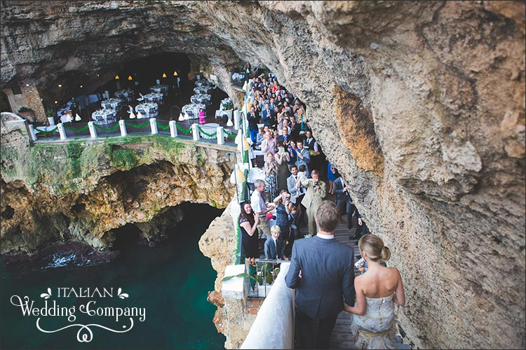 Seaside Wedding Grotta Palazzese Polignano Apulia