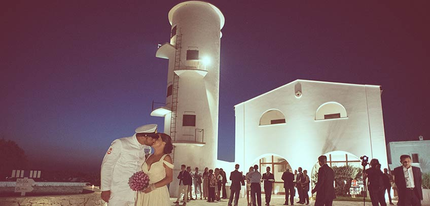 navy Theme for a romantic wedding in Apulia