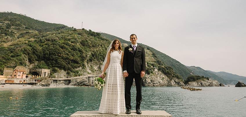 Elope in Monterosso, Cinque Terre Italian Riviera