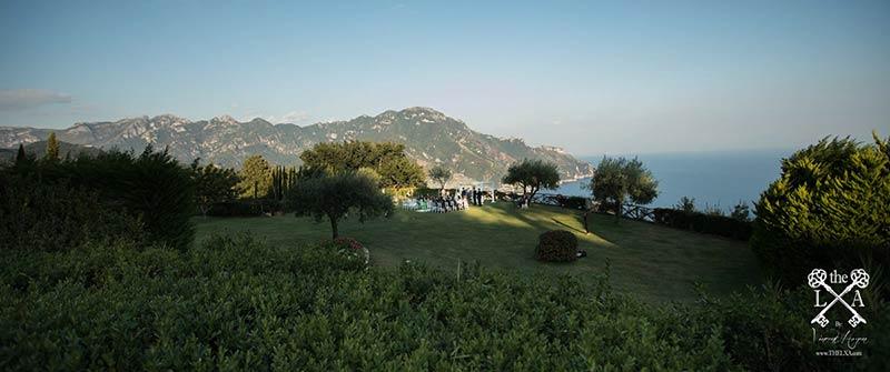 Wedding in Villa Cimbrone, Amalfi Coast