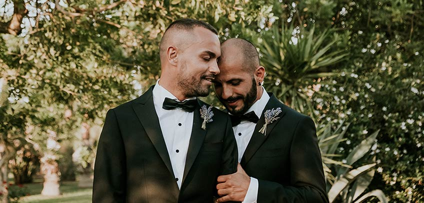 Same sex wedding in Apulia