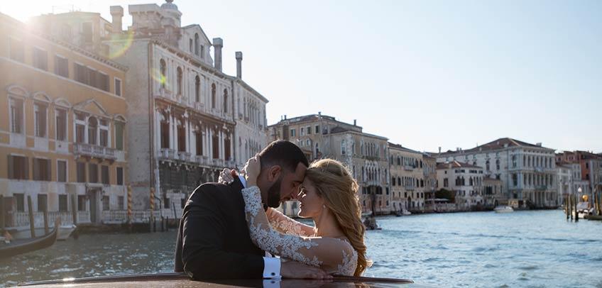 Protestant wedding in Venice