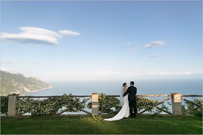Amalfi Coast Wedding In A Top Destination Venue In Ravello