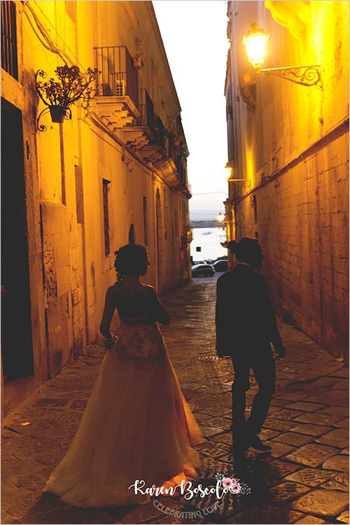 Wedding in Syracuse, Ortigia Island ceremony