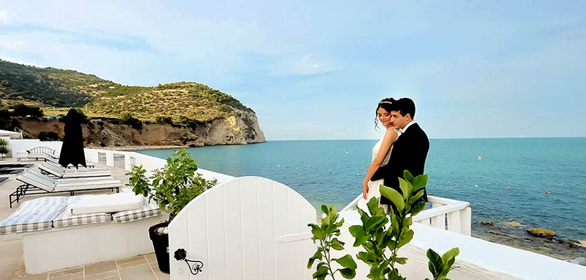 Wedding reception in Gargano, Apulia