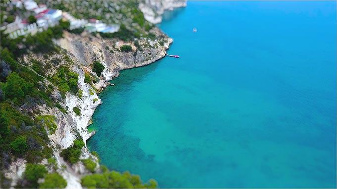 Gargano wedding Apulia seasid