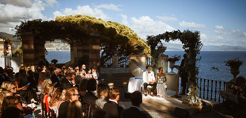 Wedding at La Cervara in Portofino, Italian Riviera