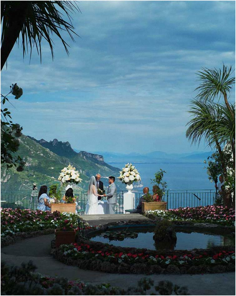 Wedding On Amalfi Coast Wedding In Positano Ravello