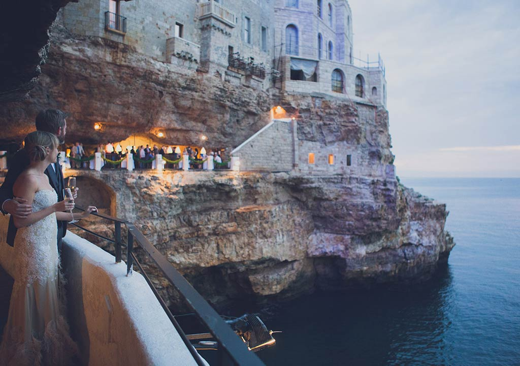 Seaside wedding in Apulia