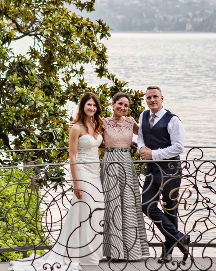 Seaside wedding planner on Italian Riviera
