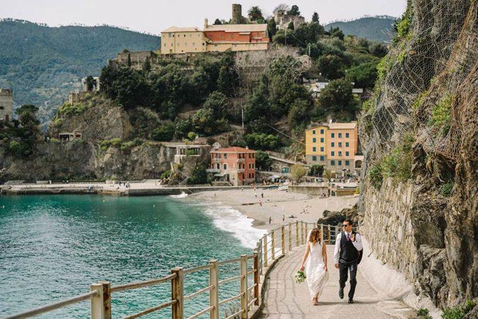 Wedding in Monterosso, Italian Riviera