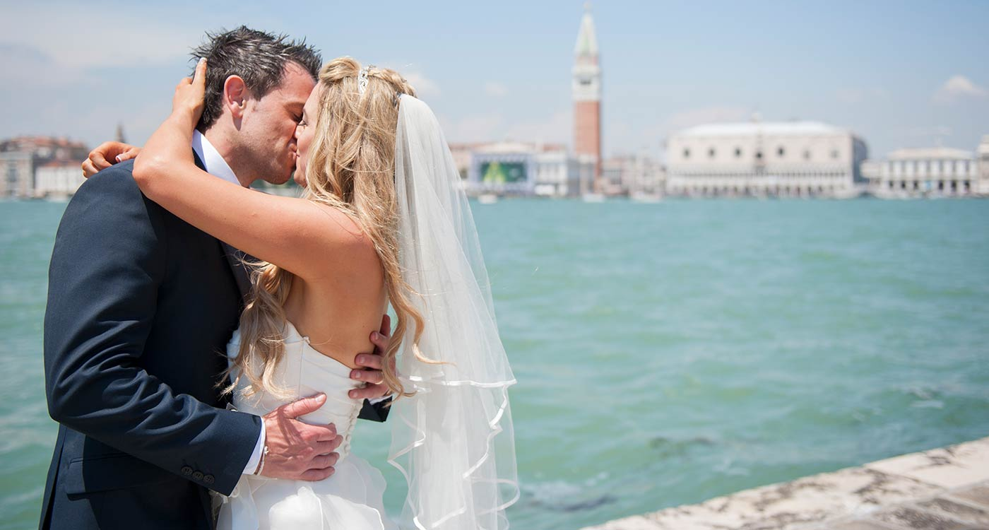 Wedding in Venice, seaside wedding in Italy