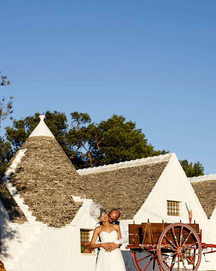 Trullo wedding in Apulia
