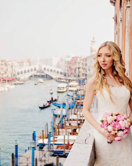 Venice seaside wedding