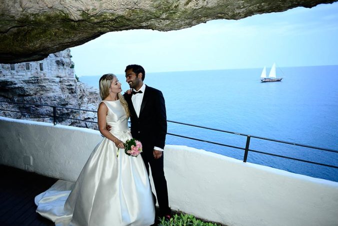 Wedding in Grotta Palazzese, Apulia