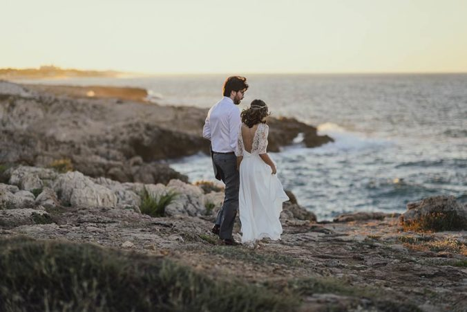 Seaside wedding in Salento, Apulia