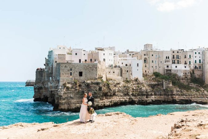 Wedding in Polignano a Mare, Apulia