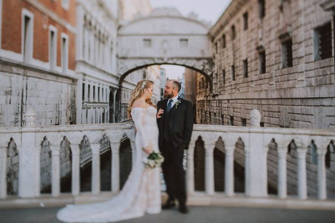 Ponte dei Sospiri wedding in Venice