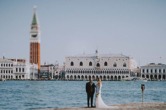 Seaside wedding in Venezia