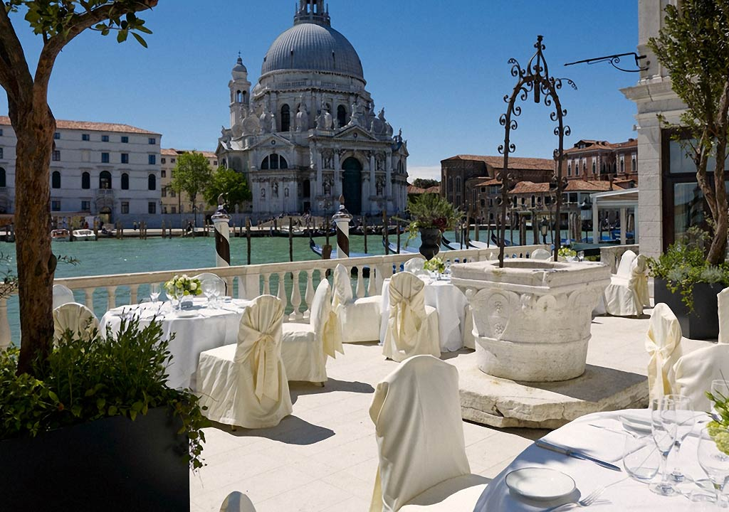 Wedding reception in Venice