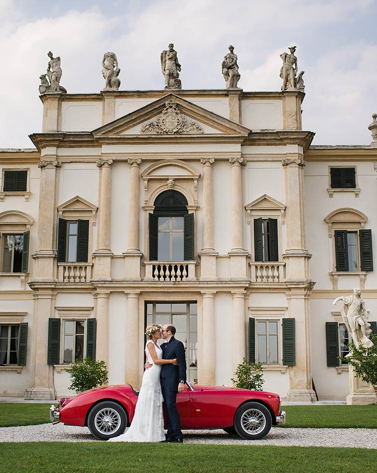 Wedding in Venetian Villas in the countryside