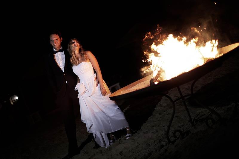 Beach wedding in Apulia