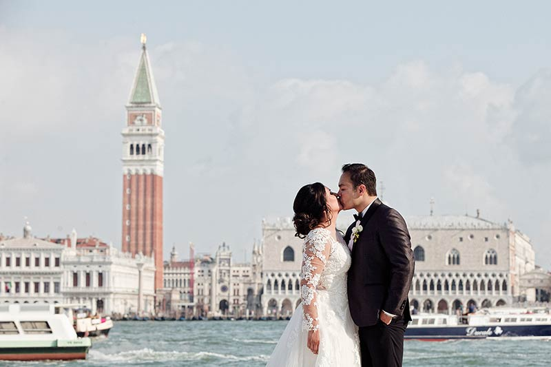 Catholic wedding in Venice