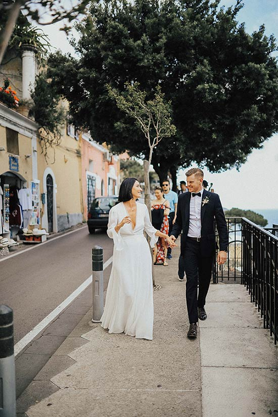 Wedding in Positano on Amalfi Coast