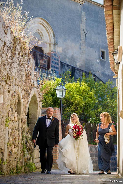 Wedding in the land of the Godfather in Sicily