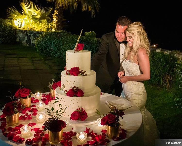 Wedding party in Sicily