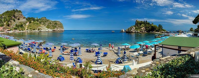 Wedding reception in Taormina Isola Bella