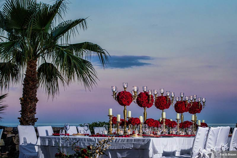 Wedding reception in Taormina