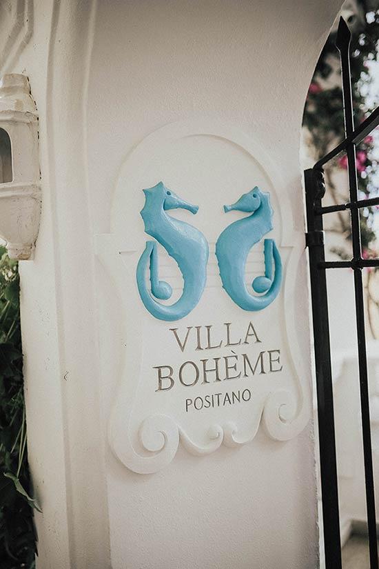 Wedding at Villa Boheme in Positano