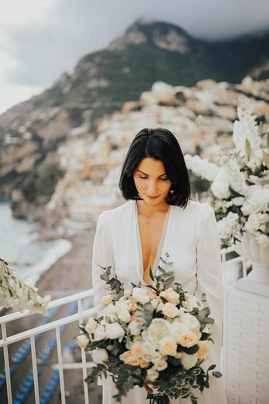 Wedding at Villa Boheme in Positano