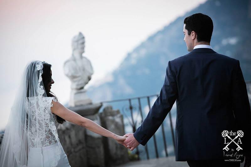 Wedding photo session in Ravello