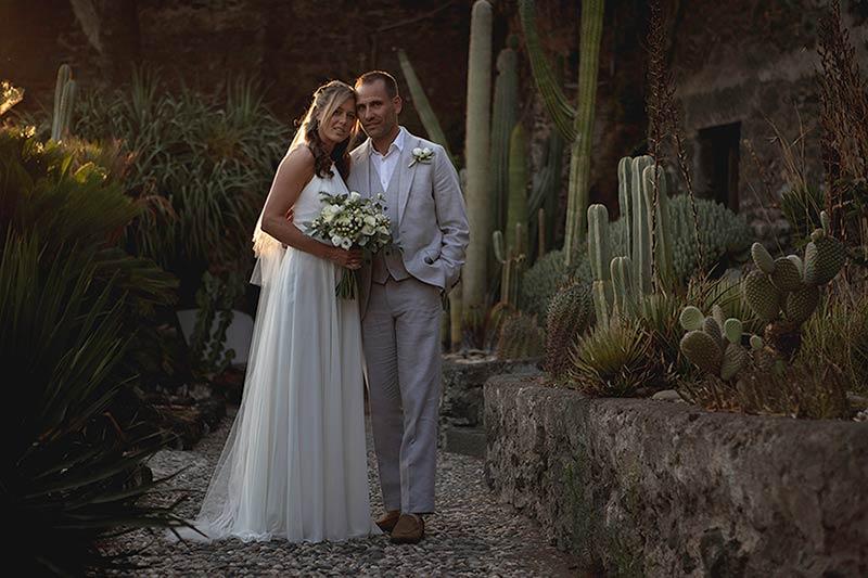 Wedding at Botanical Garden of Acitrezza in Sicily