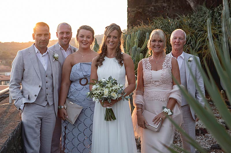Wedding at Botanical Garden of Acitrezza in Sicily