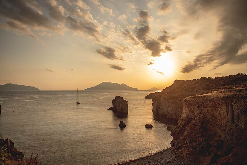 Wedding on Aeolian Islands