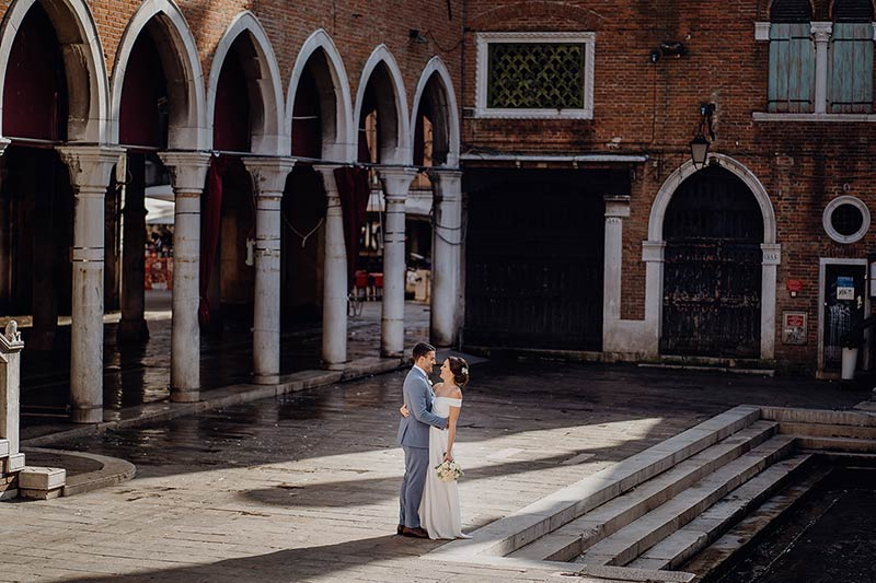 Dream wedding in Venice
