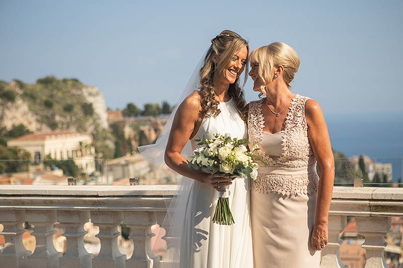 Scottish wedding in Sicily