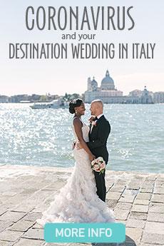 Coronavirus and your destination wedding in Italy