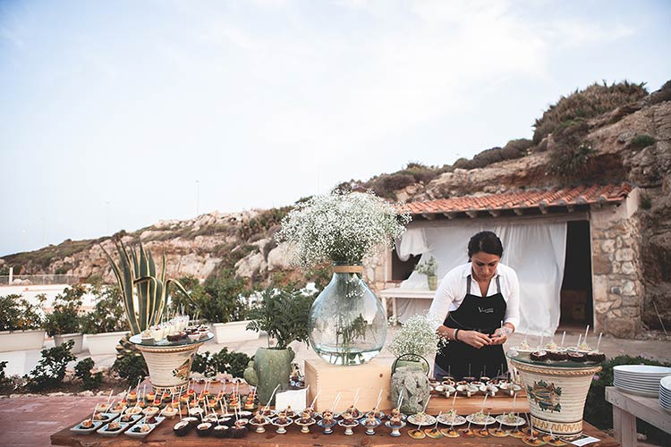 real wedding in a typical Sicilian style