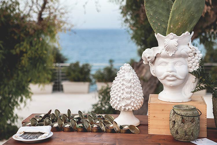 real wedding in Sicily with a typical Sicilian style