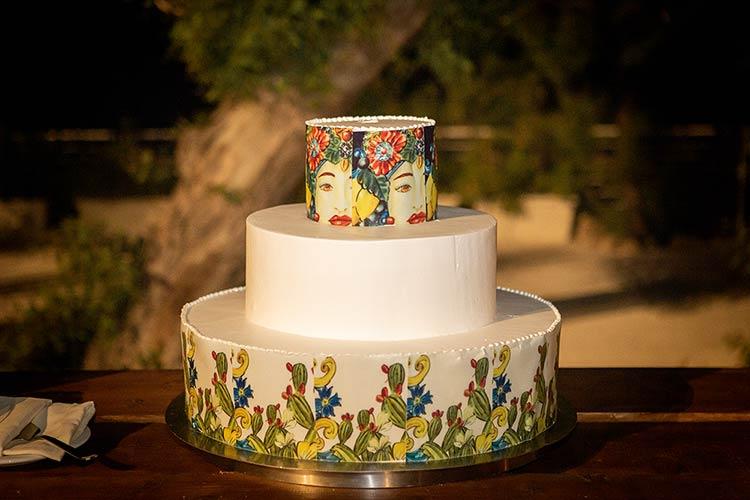 Wedding reception at Castello Tafuri, a traditional Sicilian castle