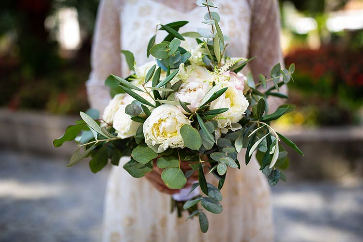 Bridal bouquet Amalfi Coast