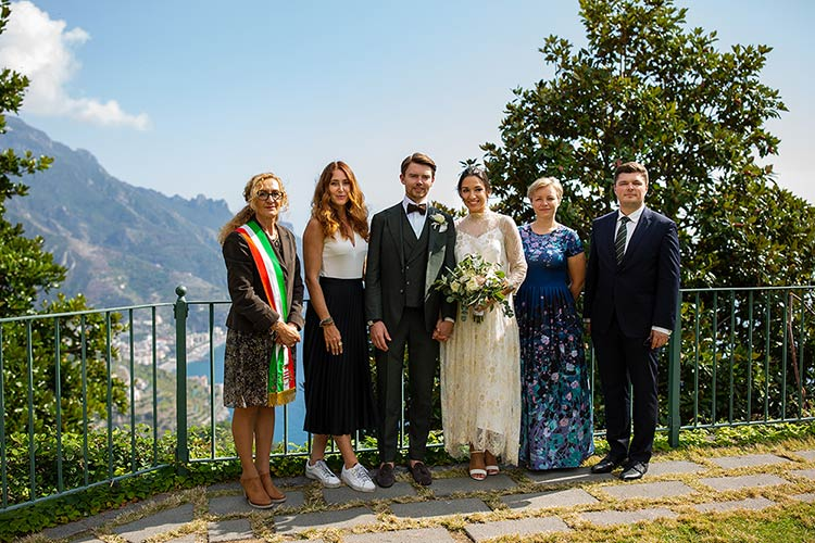 Civil Ceremony in Ravello