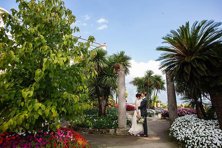 Villa Rufolo Gardens in Ravello